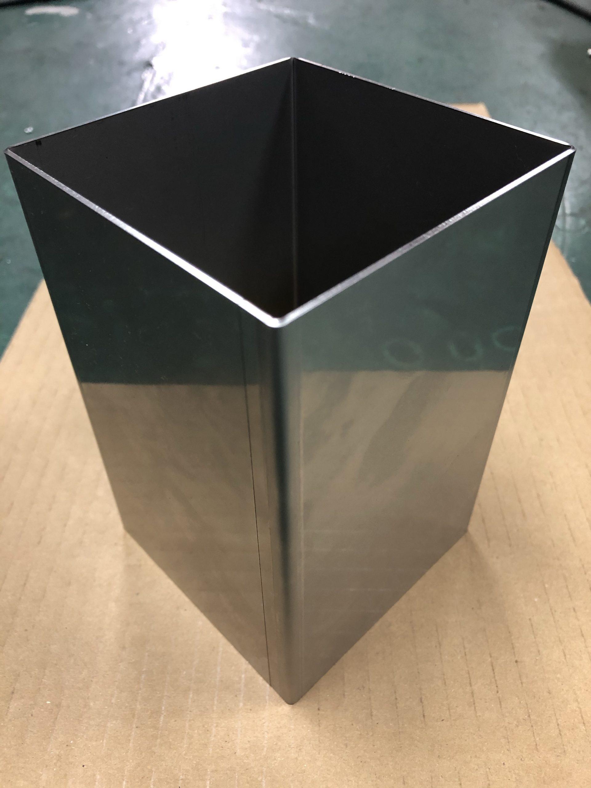 sus304   t1.5 曲げ長さ160 100×100